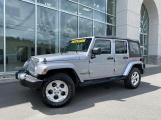 Used 2015 Jeep Wrangler Sahara UNLIMITED 4X4 AUTO for sale in Ste-Agathe-des-Monts, QC