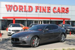 Used 2017 Maserati Ghibli S Q4 | Ontario Local | *400 HP* | AWD! for sale in Etobicoke, ON