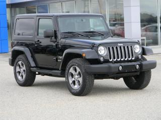 Used 2016 Jeep Wrangler Sahara for sale in Beausejour, MB