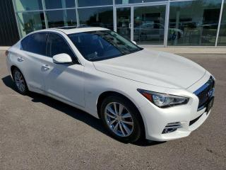 Used 2014 Infiniti Q50 4dr Sdn Premium AWD for sale in Ingersoll, ON
