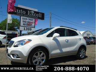 Used 2014 Buick Encore Leather for sale in Winnipeg, MB