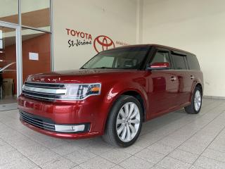 Used 2018 Ford Flex * LIMITED * AWD * 7 PASSAGERS * 53 000 KM * for sale in Mirabel, QC
