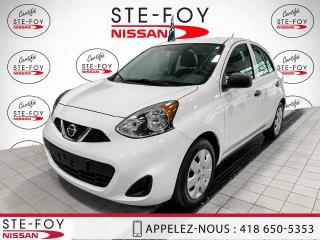 Used 2015 Nissan Micra NISSAN MICRA S  AUTOMATIQUE 2015 for sale in Ste-Foy, QC