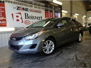 Used 2013 Hyundai Elantra GLS, RÉGULATEUR DE VITESSE , BLUETOOTH, for sale in Blainville, QC