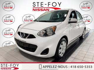 Used 2019 Nissan Micra NISSAN MICRA SV 2019 AUTOMATIQUE TOUTES for sale in Ste-Foy, QC