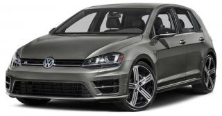 Used 2017 Volkswagen Golf R 2.0 TSI 2.0T, Clean Carfax, 4 Motion All Wheel Drive, Navigation, 6 sp. Manual for sale in North York, ON