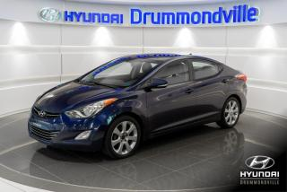 Used 2013 Hyundai Elantra LIMITED + GARANTIE + NAVI + TOIT + MAGS for sale in Drummondville, QC
