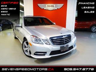 Used 2013 Mercedes-Benz E-Class E300 4MATIC NAVI | CERTIFIED | FINANCE @ 4.65% for sale in Oakville, ON