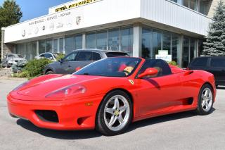 Used 2003 Ferrari 360 Spider for sale in Oakville, ON