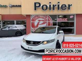 Used 2015 Honda Civic Si manuelle for sale in Val-D'or, QC