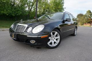 Used 2008 Mercedes-Benz E-Class STUNNING ESTATE / BLACK BEAUTY / LOCAL CAR /7 PASS for sale in Etobicoke, ON