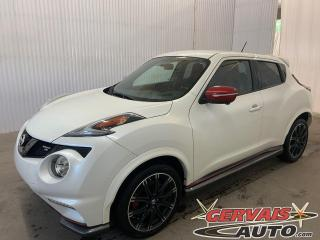 Used 2016 Nissan Juke NISMO RS Bancs Recaro GPS Caméra Mags *Version très rare* for sale in Trois-Rivières, QC