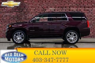 Used 2017 Chevrolet Tahoe 4x4 Premier Leather Roof Nav BCam for sale in Red Deer, AB