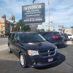 Used 2013 Dodge Grand Caravan Crew for sale in Windsor, ON