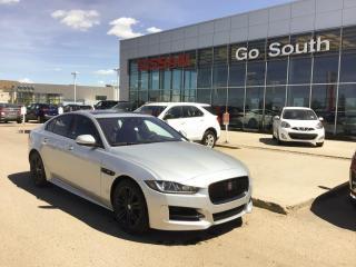 Used 2017 Jaguar XE R-SPORT, AWD, DIESEL, LEATHER for sale in Edmonton, AB