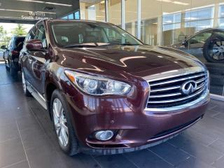 Used 2015 Infiniti QX60 AWD, ACCIDENT FREE, POWER HEATED/VENTED LEATHER SEATS, DVD SYSTEM, NAVI for sale in Edmonton, AB