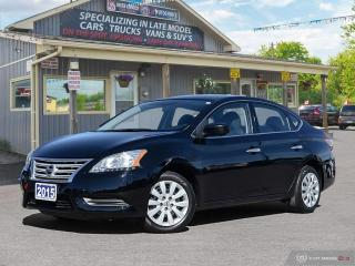 Used 2015 Nissan Sentra S, LOW KM, BLUETOOTH, USB PORT for sale in Orillia, ON