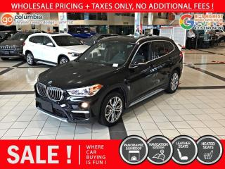Used 2019 BMW X1 xDrive28i - Local / Nav / Pano Sunroof for sale in Richmond, BC