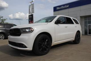 Used 2018 Dodge Durango GT BLACKTOP/REARDVD/LEATHER/NAV/PANOROOF/7PASS for sale in Edmonton, AB