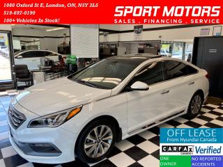 Used 2016 Hyundai Sonata Sport-Tech+Camera+Navigation+Leather+Accident Free for sale in London, ON
