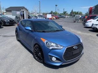 Used 2016 Hyundai Veloster RALLY EDITION A/C CUIR MAGS BLUETOOTH CA for sale in St-Hubert, QC
