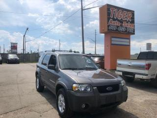Used 2005 Ford Escape XLT**V6**ONLY 164KM**NEWER TIRES**AS IS for sale in London, ON