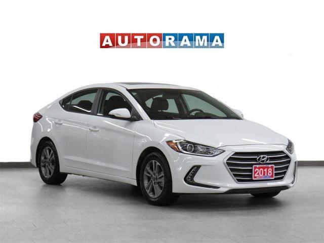 2018 Hyundai Elantra GLS Leather Sunroof AAuto/Carplay Bcam
