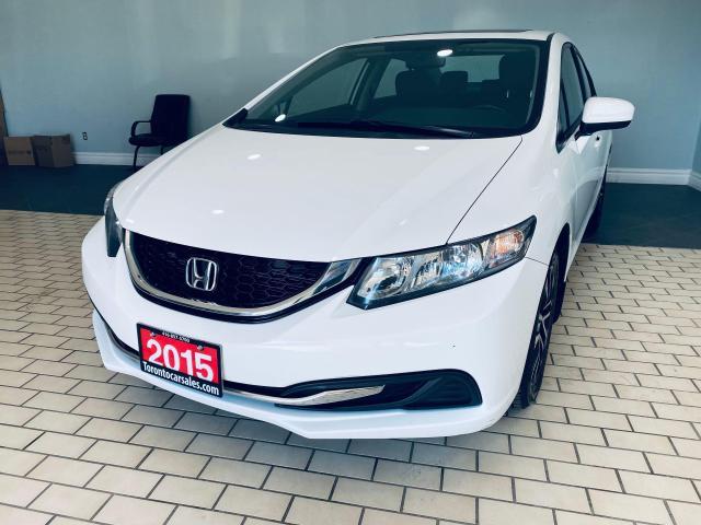 2015 Honda Civic EX I SUNROOF I ALLOY I REAR & SIDE-VIEW CAMERA
