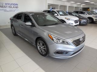 Used 2016 Hyundai Sonata 2.0T SPORT AUTO CUIR NAV CAMERA CRUISE B for sale in Dorval, QC