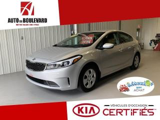 Used 2017 Kia Forte LX AUTO AIR 19 000KM 1 SEUL PROPRIO for sale in Notre-Dame-des-Pins, QC