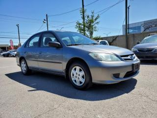 Used 2004 Honda Civic *A/C*DOOR LOCK*AUTOMATIQUE* for sale in St-Jérôme, QC