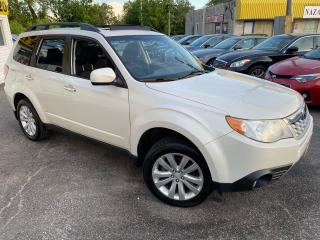 Used 2011 Subaru Forester X TOURING/ 5 SPEED/ PANO ROOF/ PWR GROUP/ ALLOYS++ for sale in Scarborough, ON