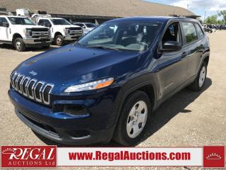 Used 2018 Jeep Cherokee Sport 4D Utility FWD 2.4L for sale in Calgary, AB