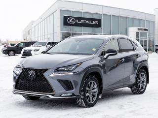 New 2020 Lexus NX 300 F-Sport Series 2 for sale in Winnipeg, MB
