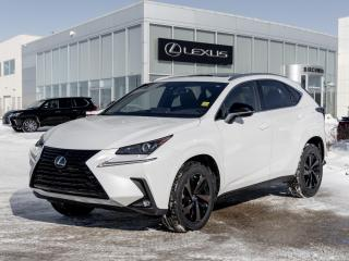 New 2020 Lexus NX 300 Blackline Edition for sale in Winnipeg, MB