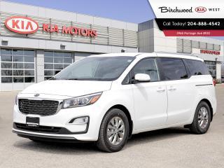 New 2020 Kia Sedona LX+ **Apple Carplay /Push Button Start/Heated Seats/Heated Steering Wheel/Back Up Cam** for sale in Winnipeg, MB