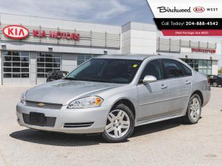 Used 2013 Chevrolet Impala LT | V6 | Bluetooth | Remote Start | for sale in Winnipeg, MB