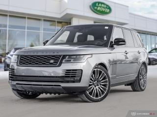 New 2020 Land Rover Range Rover HSE | The Ultimate Range Rover for sale in Winnipeg, MB