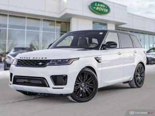 New 2020 Land Rover Range Rover Sport HSE Dynamic *Retired Courtesy Vehicle for sale in Winnipeg, MB