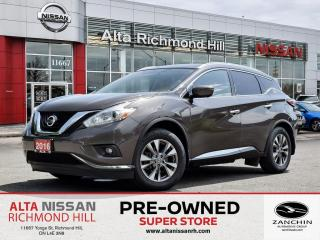 Used 2016 Nissan Murano SL   Leather   360   Pano   Remote Start   Navi for sale in Richmond Hill, ON