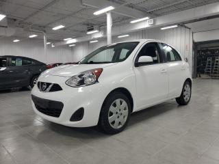 Used 2017 Nissan Micra S for sale in Saint-Eustache, QC
