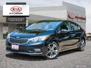 Used 2016 Kia Forte (4) EX - AUTO, CARFAX CLEAN!!! for sale in Kitchener, ON