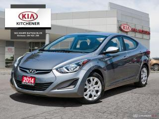 Used 2014 Hyundai Elantra GL AUTO, CARFAX CLEAN!!! for sale in Kitchener, ON