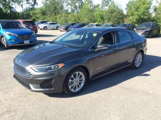 Used 2019 Ford Fusion Hybrid SEL HYBRID - LEATHER - SUNROOF - NAV! for sale in Ottawa, ON