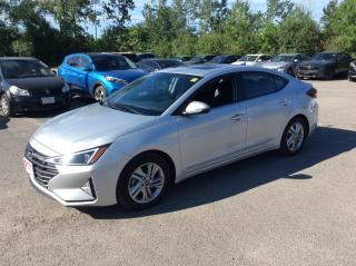 Used 2020 Hyundai Elantra Preferred w-Sun & Safety Package for sale in Ottawa, ON