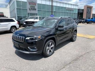 New 2020 Jeep Cherokee Limited for sale in Pickering, ON