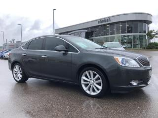 Used 2016 Buick Verano PREMIUM \ TURBO \ NAV \ LEATHER \ AMAZING! \ for sale in Waterloo, ON