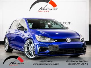 Used 2018 Volkswagen Golf R DSG|AWD|Navigation|Camera|Blindspot|Heated Leather for sale in Vaughan, ON