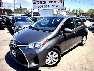 Used 2016 Toyota Yaris LE Hatchback All Power/Bluetooth/Cruise&GPS* for sale in Mississauga, ON