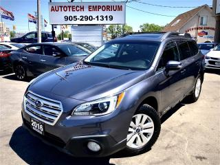 Used 2016 Subaru Outback Premium w/Camera/Sunroof/Heated Seats/Bluetooth&ABS* for sale in Mississauga, ON